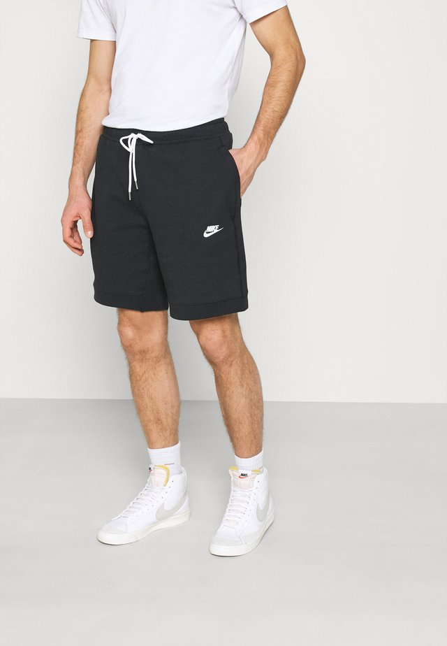 MODERN - Shorts - black/ice silver/white
