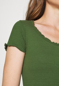Anna Field - Basic T-shirt - olive - 4