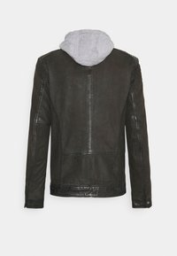 Oakwood - PARK - Leather jacket - antic brown - 9