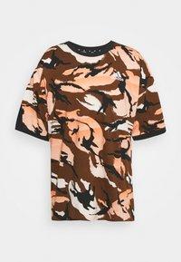adidas Performance - STREET - Print T-shirt - brown - 4