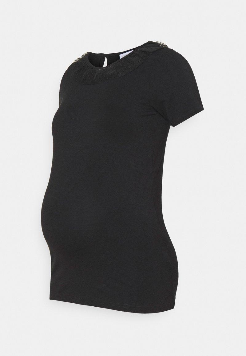 MAMALICIOUS - MLBARBARA - T-shirts med print - black