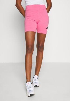 LOGO GRAPHIC SERIES CASUAL BIKE TIGHTS - Shorts - solar pink