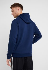 Under Armour - RIVAL SPORTSTYLE LOGO HOODIE - Hættetrøjer - academy/white - 2