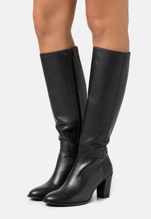 OCHINNA  - Vysoká obuv - doge black