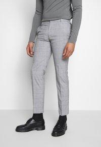Limehaus - WINDOWPANE SUIT - Suit - grey - 3
