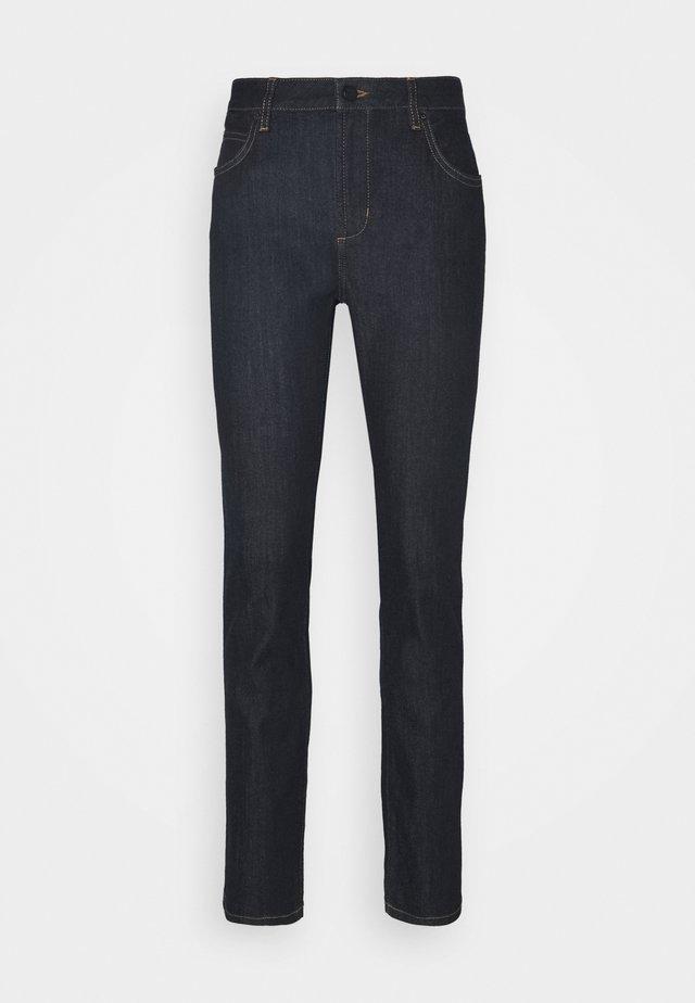 CADEY - Slim fit jeans - dark rinsed denim