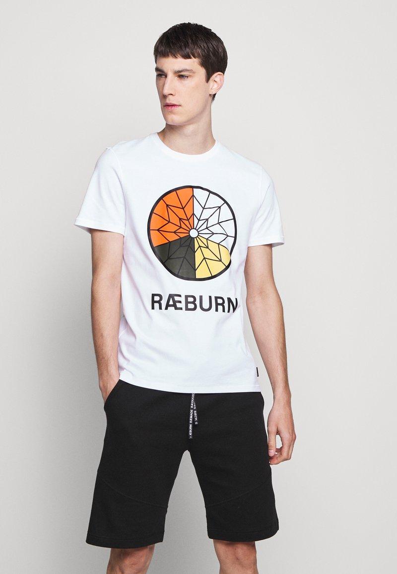 Raeburn - PARACHUTE GRAPHIC  - T-shirts print - white
