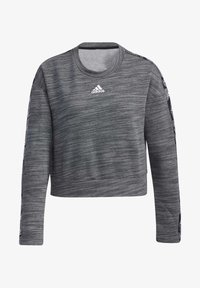 adidas Performance - Sweatshirt - dark grey heather/white - 7