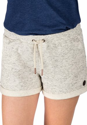 Shorts - white and black speck