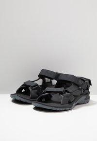 Jack Wolfskin - LAKEWOOD RIDE - Walking sandals - ebony - 3