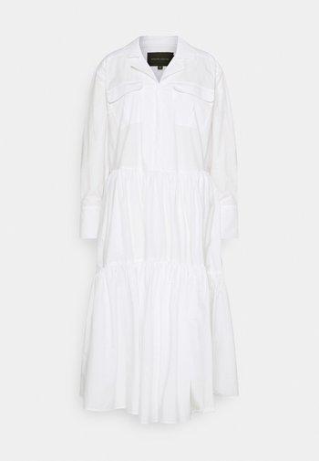 TRINE DRESS - Shirt dress - white
