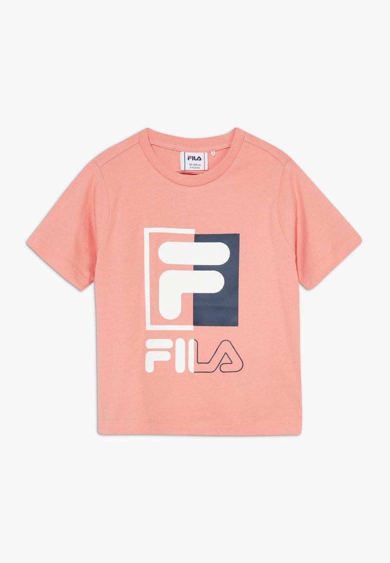Fila - SAKU - T-shirt imprimé - lobster bisque