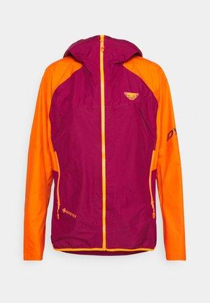 TRANSALPER  - Hardshell jacket - beet red