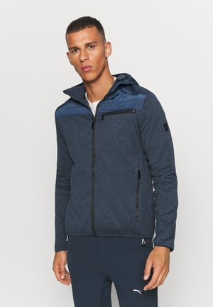 UPHAM HYBRID - Fleece jacket - blue