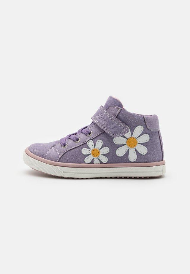 SIBBI - High-top trainers - lilac