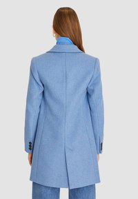 Stradivarius - Classic coat - blue - 2