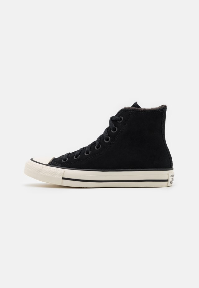 CHUCK TAYLOR ALL STAR  - Sneakers hoog - black/almost black/egret