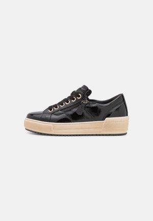 Sneakers laag - schwarz/gold