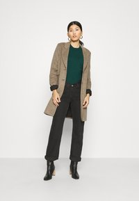 edc by Esprit - FITTED PUFFY - Jumper - dark teal green - 1