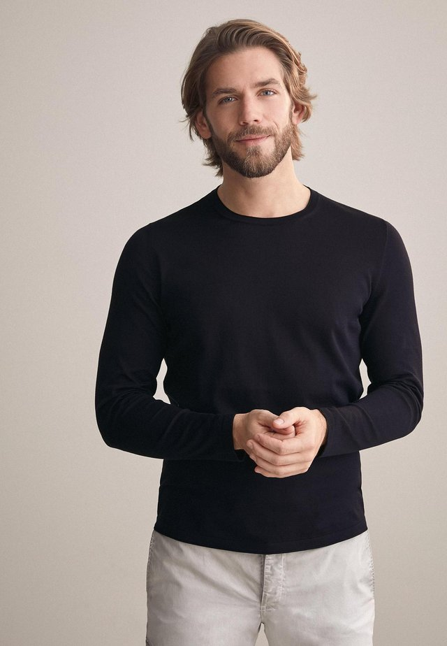 Sweatshirt - blu navy