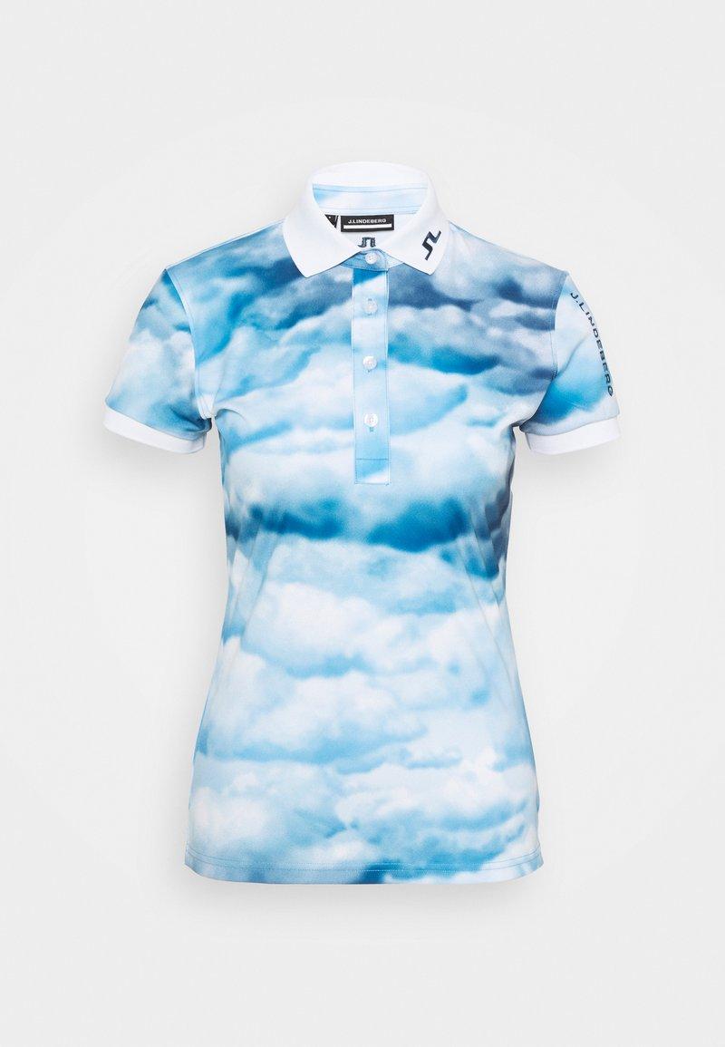 J.LINDEBERG - Sports shirt - cloud midnight summer blue