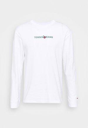 LOGO TEE UNISEX - T-shirt à manches longues - white