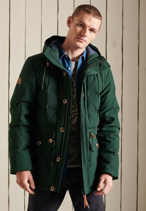 MOUNTAIN EXPEDITION - Winter coat - forest green