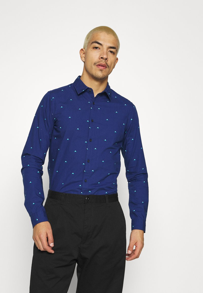 Scotch & Soda - SLIM FIT WITH ALL OVER PRINT - Shirt - combo