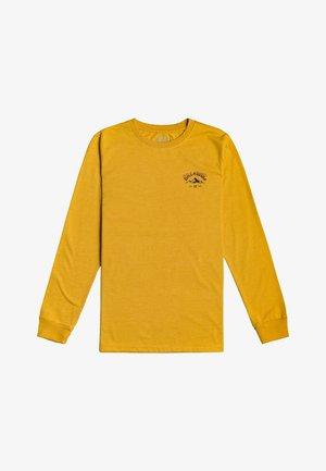 Long sleeved top - mustard