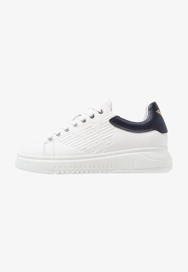 Baskets basses - optical white/navy