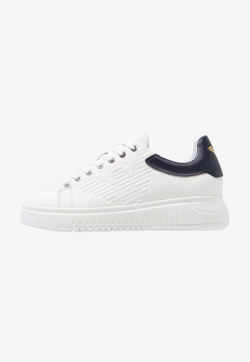 Emporio Armani - Sneakers laag - optical white/navy