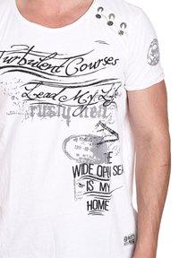 Rusty Neal - Print T-shirt - weiß - 0