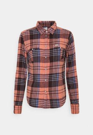 REGULAR WESTERN - Button-down blouse - desert orange