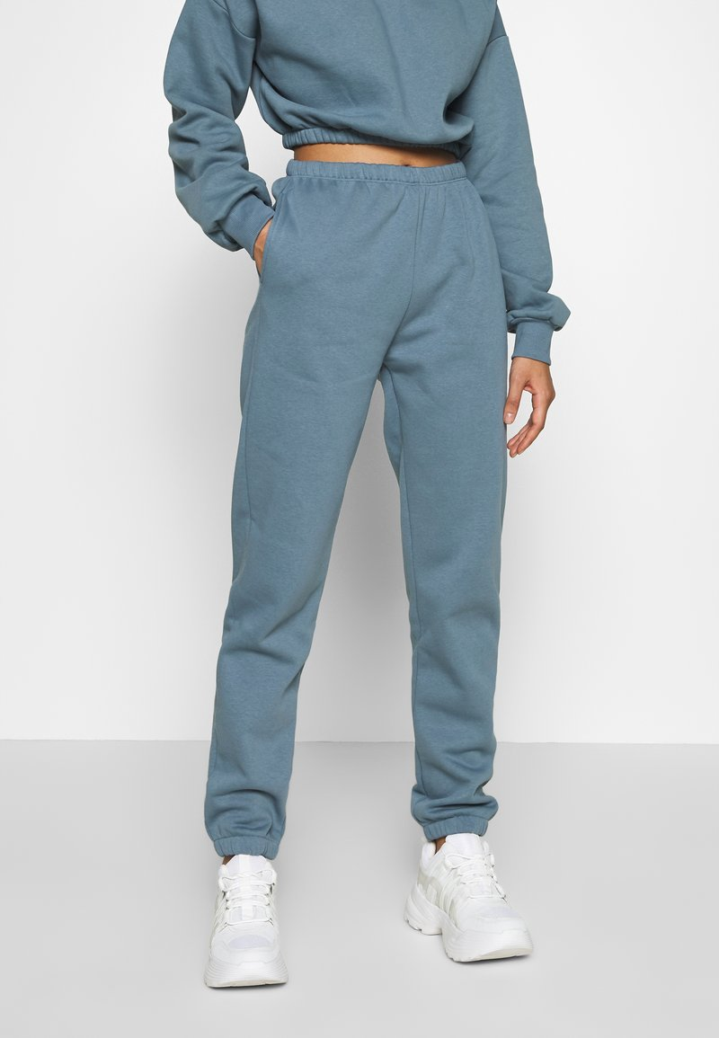 Nly by Nelly - COZY PANTS - Teplákové kalhoty - blue