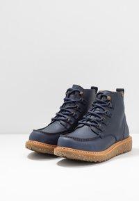 El Naturalista - PIZARRA - Lace-up ankle boots - ocean arena - 3