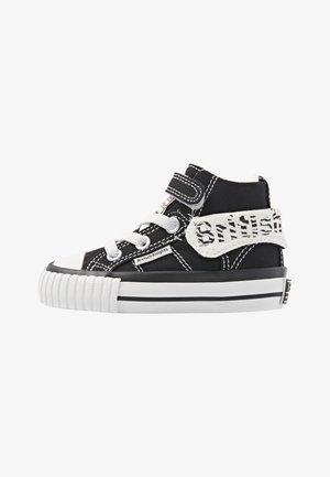 Vysoké tenisky - black/zebra
