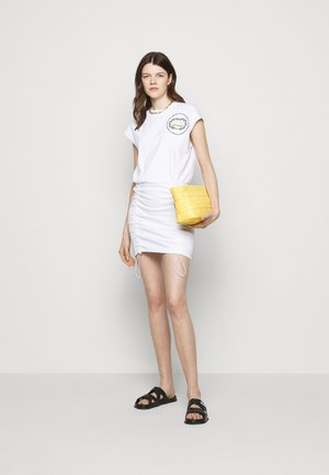 COULISSE DRESS - Jersey dress - white