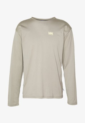 GREG - Long sleeved top - stone grey