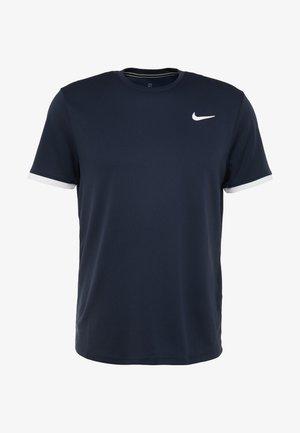 DRY - Basic T-shirt - obsidian/white