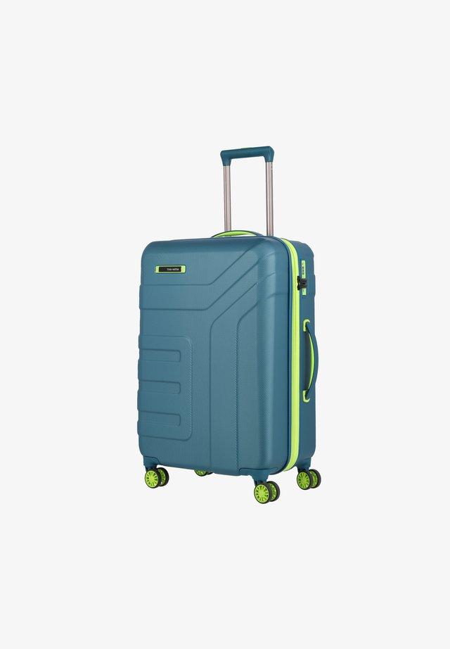 VECTOR ROLLEN - Luggage set - petrol-limone