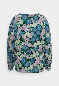 Simply Be - BATWING SLEEVE - Long sleeved top - lilac floral - 1