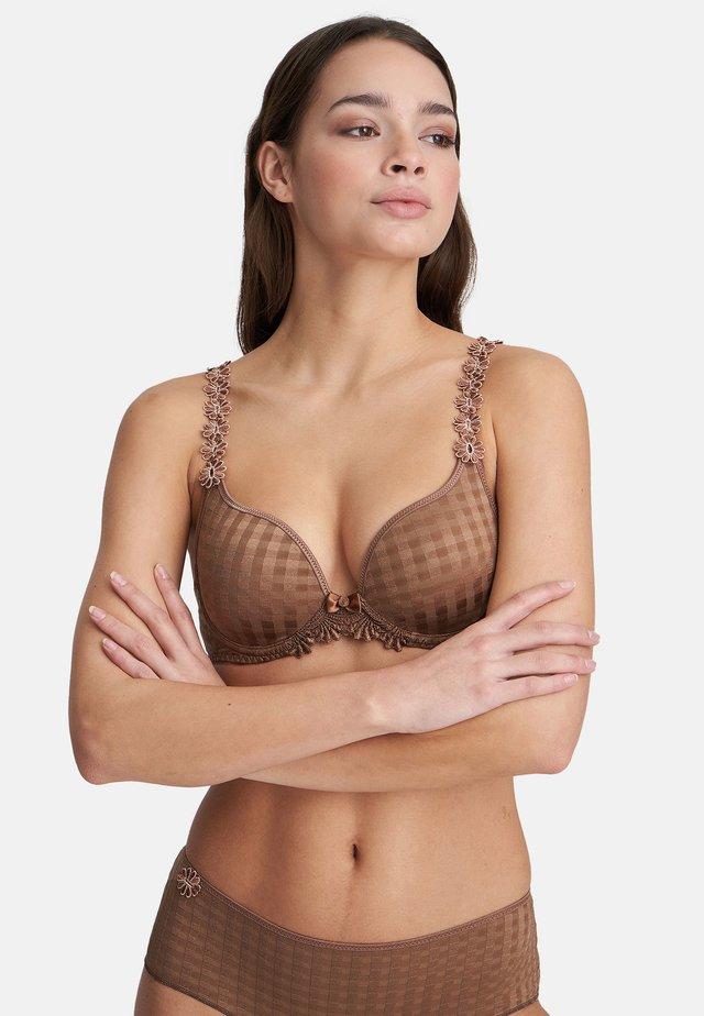 AVERO - Underwired bra - bronze