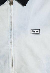 Obey Clothing - TIE DYE WORK JACKET - Kevyt takki - good grey - 8