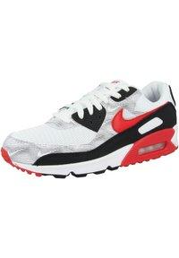 Nike Sportswear - AIR MAX 90  - Sneakers - white-black-university red - 1