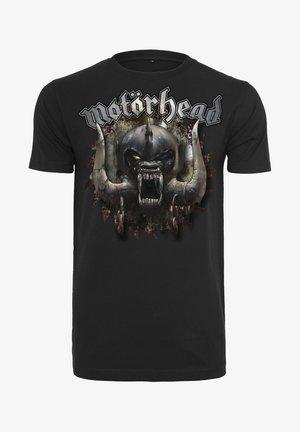 MOTÖRHEAD SAW - T-shirt z nadrukiem - black