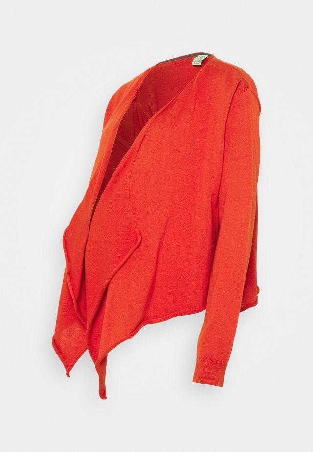 PENELOPE WRAP CARDIGAN - Vest - ginger