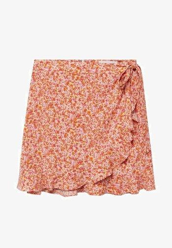DELFOS - Wrap skirt - rose