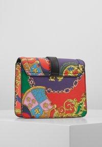Versace Jeans Couture - PRINTED SHOULDER BAG BAROQUE - Across body bag - multicolor - 1