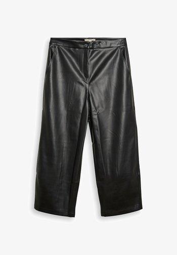 FASHION  - Trousers - black