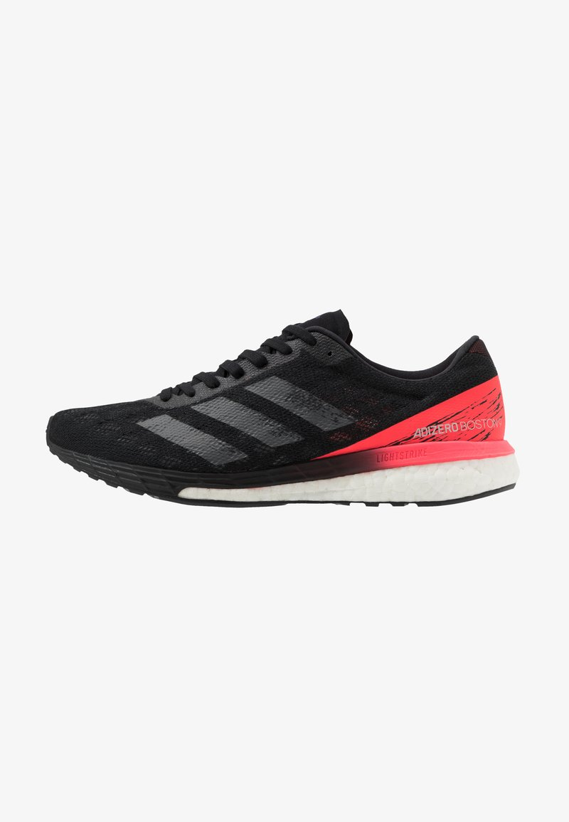 adidas Performance - ADIZERO BOSTON 9 - Competition running shoes - core black/signal pink